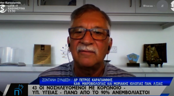 Προειδοποιεί ο Καραγιάννης: «Θα το πω κυπριακά, καήκαμε…» (vid)