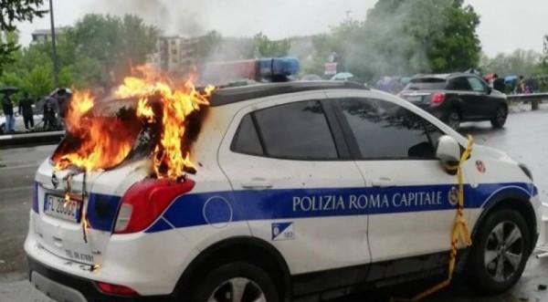 Σοβαρά επεισόδια πριν τον τελικό στην Ρώμη από οπαδούς της Λάτσιο