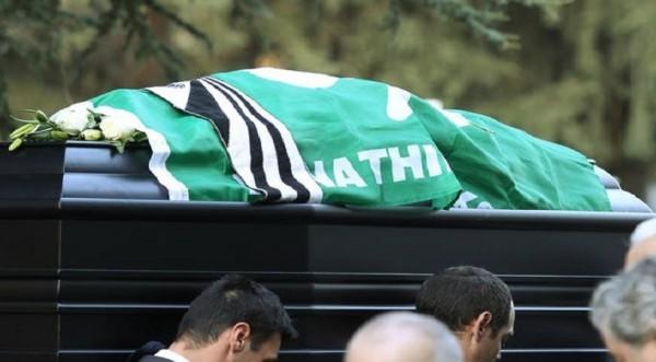 Το τελευταίο «αντίο» στον ποδοσφαιριστή Τάκη Λουκανίδη
