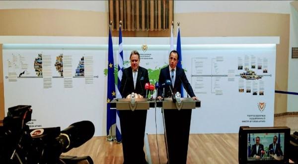 Συνεννόηση Λευκωσίας – Αθήνας για Κυπριακό και ενέργεια