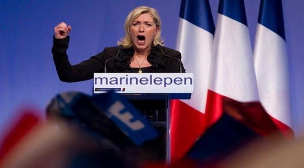 Παραπέμπεται σε δίκη η Μαρίν Λεπέν