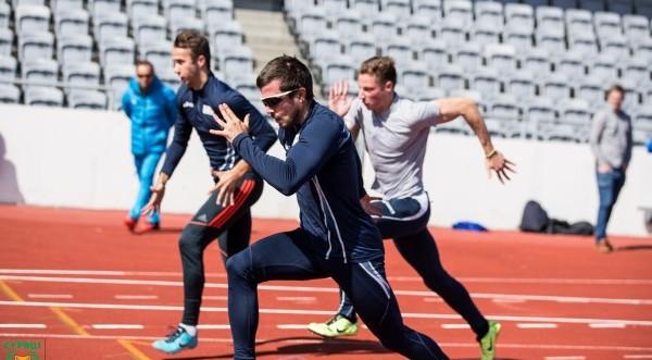 Η προπόνηση των αθλητών μας στους ΑΜΚΕ (φωτος)