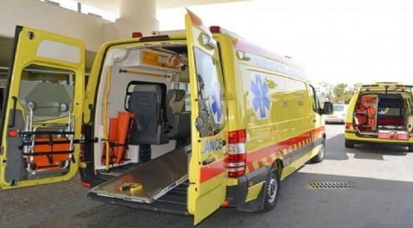 Τροχαίο ατύχημα στο Στρόβολο -Στο νοσοκομεί&om