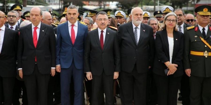 Θρασύτατη ομολογία βαρβαρότητας - Αντιπρόεδρος Τουρκίας Φ. Οκτάι: Στο ίδιο πνεύμα η εισβολή το '74 στην Κύπρο και της Συρίας