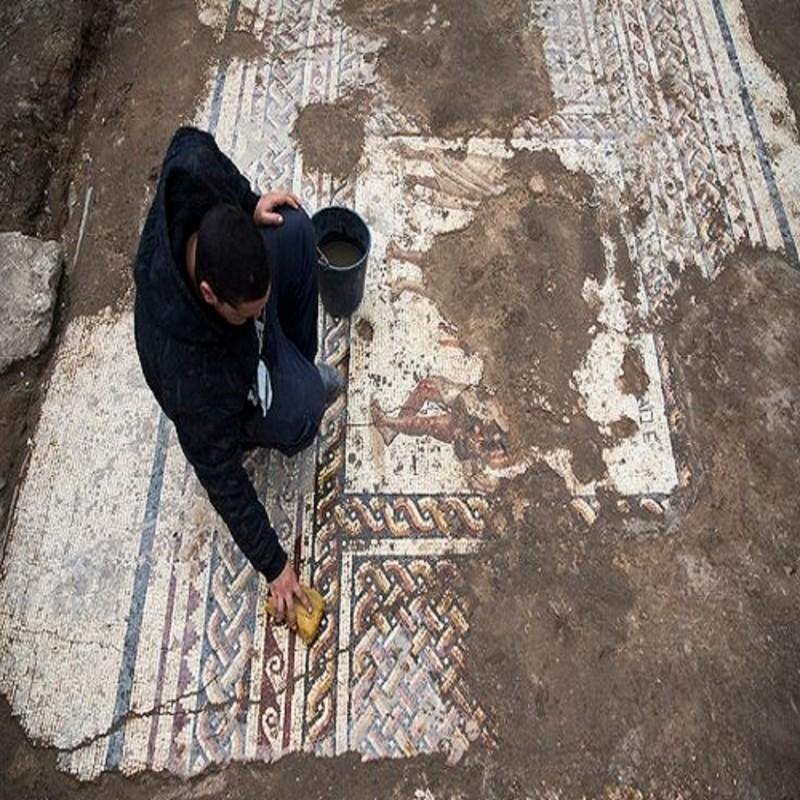 αρχαιοελληνικό μωσαϊκό