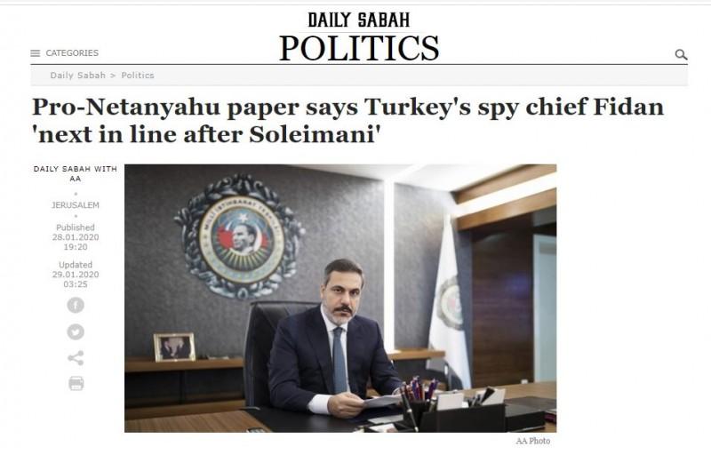 Ισραηλινά ΜΜΕ: Μετά τον Σολεϊμανί η σειρά του Τούρκου Αρχηγού της ...